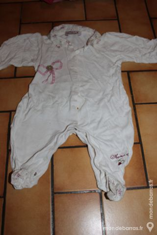 Pyjama 3 mois pomme framboise 10 Wervicq-Sud (59)