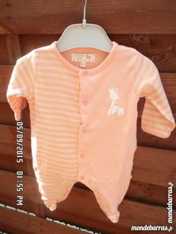 pyjama orange kiki60230 1 Chambly (60)