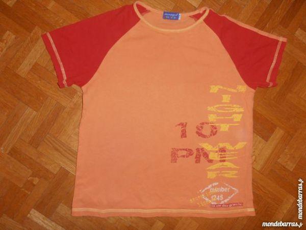 Pyjama orange et rouge (V7) 5 Tours (37)