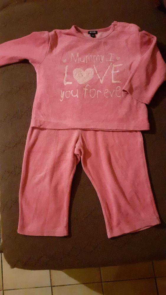 Pyjama 2 pièces fille 18 mois 2 Grisolles (82)