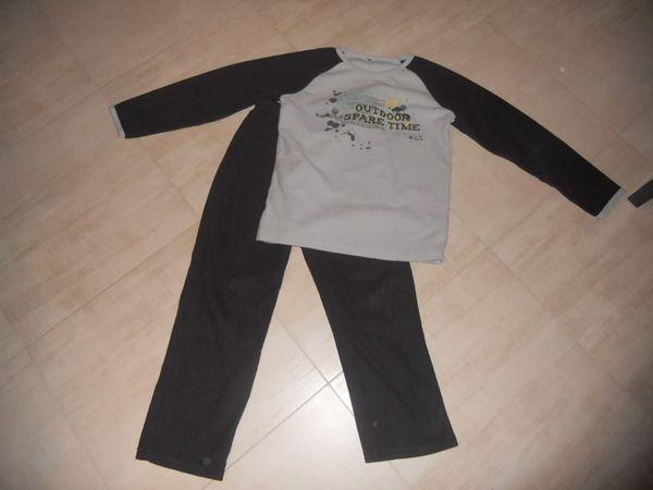 pyjama polaire 10 ans en TBE 0 Mareuil-Caubert (80)