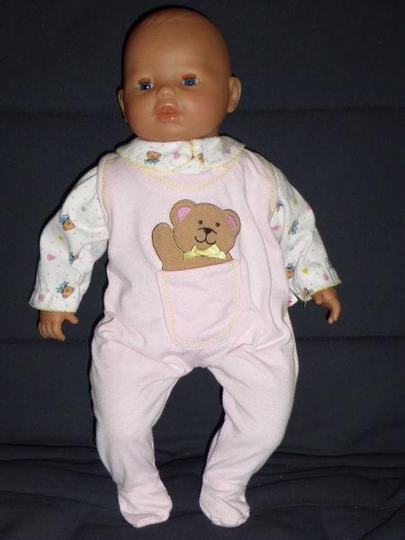 Pyjama rose ourson coeur poupée 42 à 48 cm 5 Rueil-Malmaison (92)