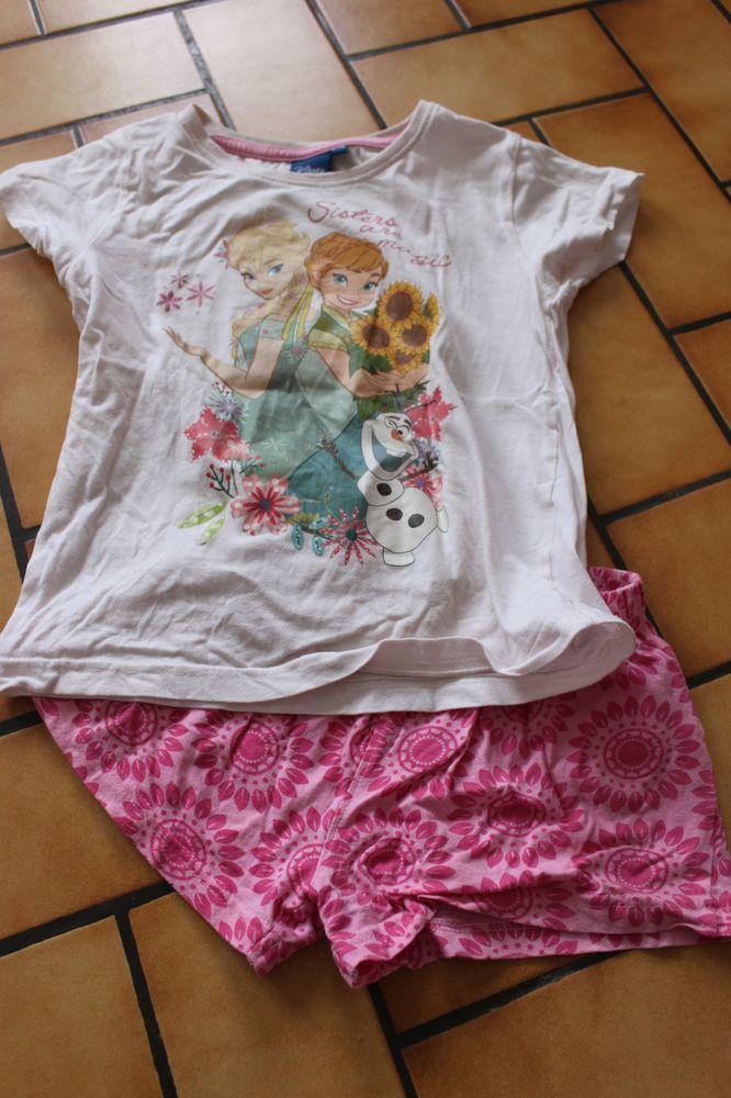 pyjama short disney reine des neiges 6 ans 2 Wervicq-Sud (59)