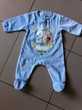 G/A Pyjama velours bleu ciel Winnie