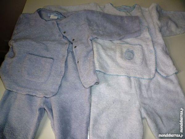 pyjamas velours 6 mois 6 Paris 9 (75)