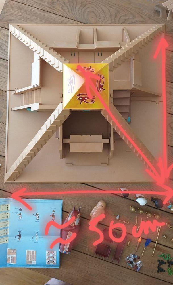 Pyramide égyptienne Playmobil quasi neuve 60 Ventabren (13)
