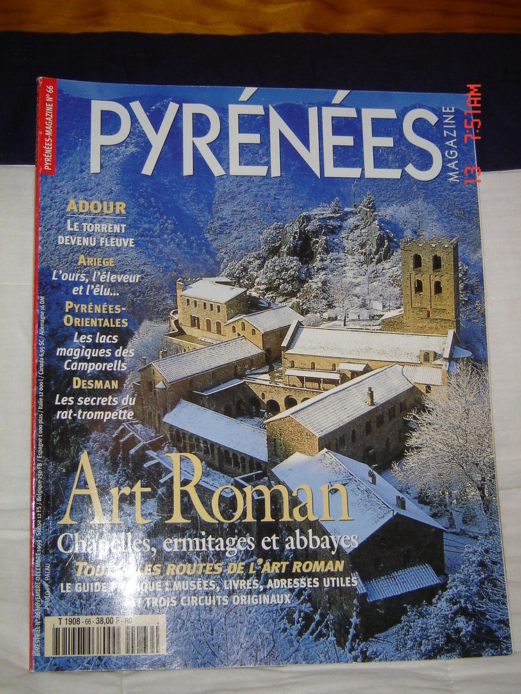 Pyrénées Magazine N°66 du 01-11-1999 Art roman  2 Arros-de-Nay (64)