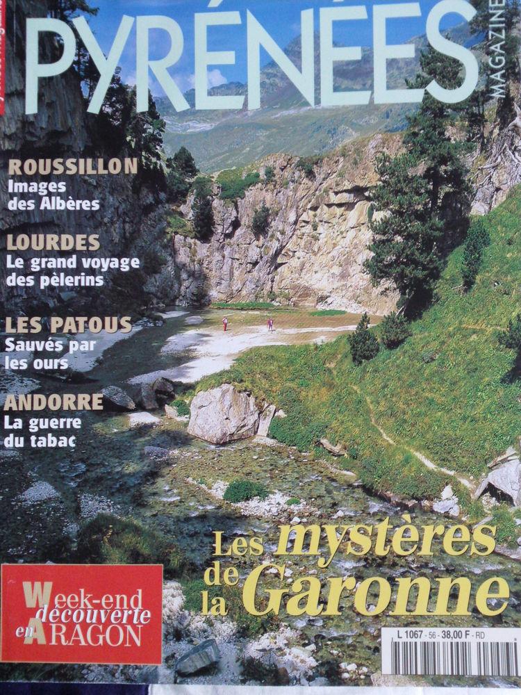 Pyrénées Magazine N°56 Les mystères de La Garonne  2 Arros-de-Nay (64)