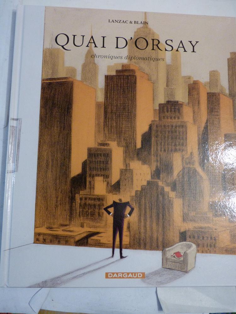 BD QUAI D' ORSAY N° 2 CHRONIQUES DIPLOMATIQUES edit orig 11 Brest (29)