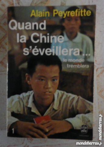 QUAND LA CHINE S'EVEILLERA par Alain PEYREFITTE Livres et BD