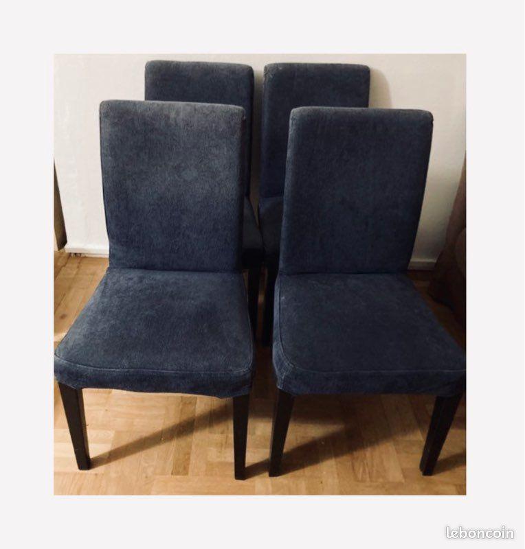 Quatre chaises IKEA Henriksdal 80 Orléans (45)