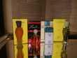 Lot de quatre miniatures de parfum Balenciaga avec boites.