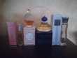 Lot de quatre miniatures de parfum, rares.