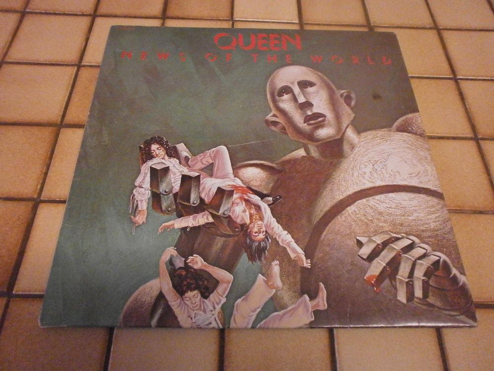 QUEEN - Album Vinyle 33 T - PRESSAGE 1977 -  22 Fourmies (59)