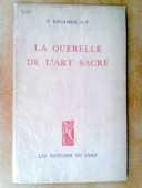 Querelle Art Sacré, P. REGAMEY 45 Saint-Germain-en-Laye (78)