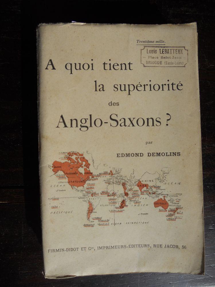 A QUOI TIENT LA SUPÉRIORITÉ des ANGLO-SAXONS 1927 14 Tours (37)
