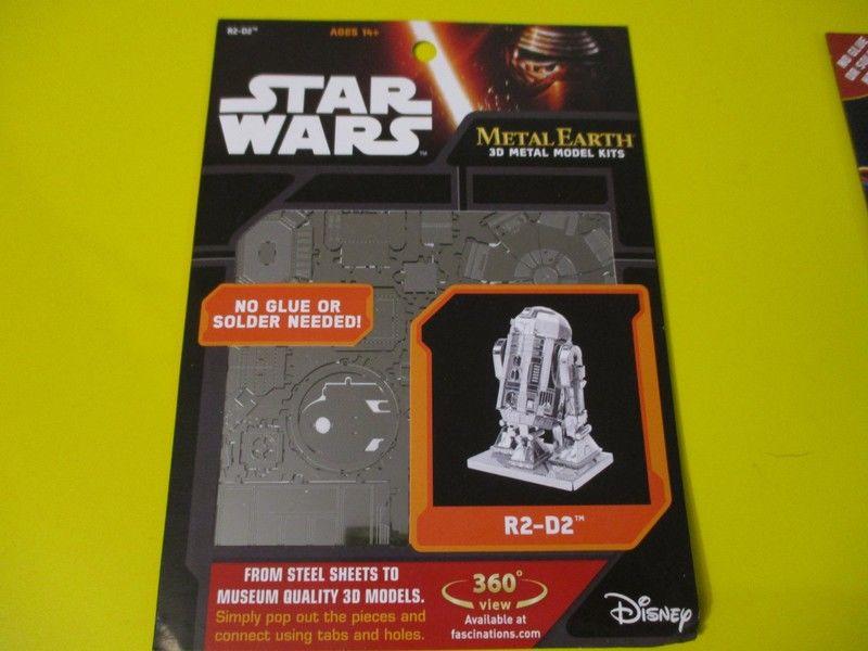 R2D2 droid star wars 3d maquette figurine metal  à monter 14 Lognes (77)