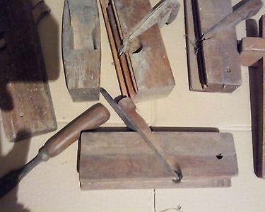 rabot en bois  40 Vicdessos (09)