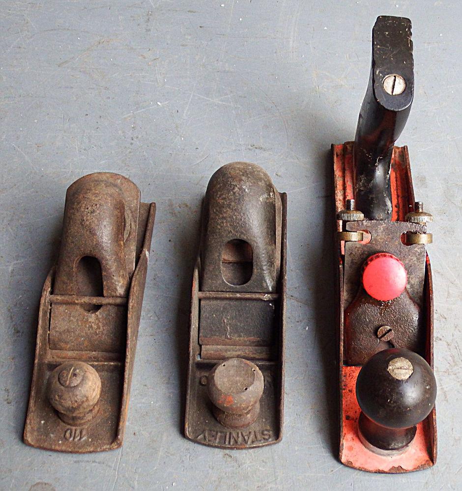 3 rabots en fer (ports compris ) 34 Le Temple-sur-Lot (47)
