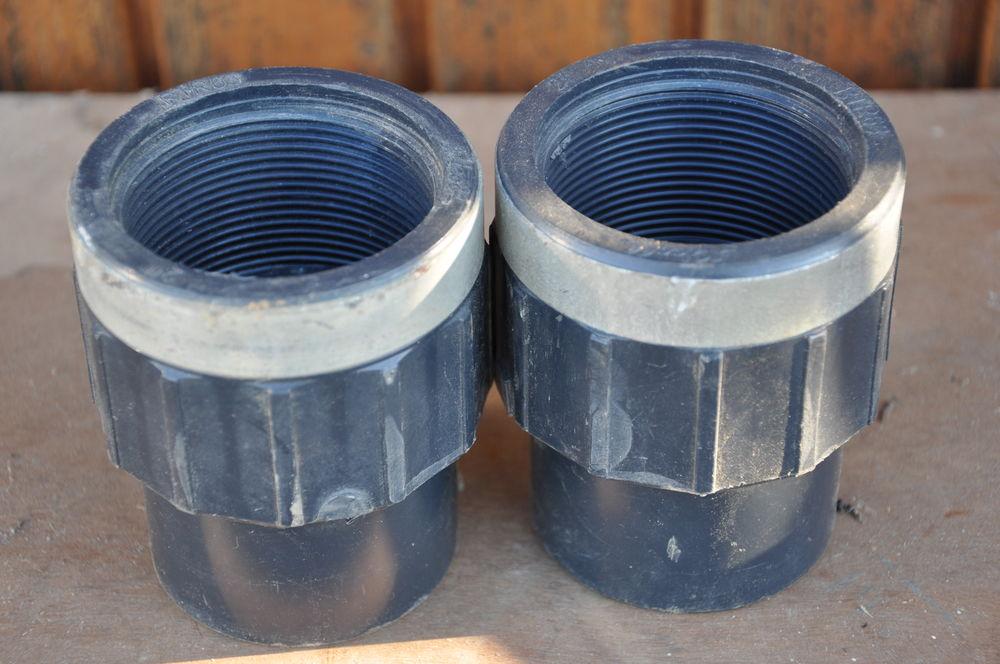 Raccord pvc pression Diam75-63 filetage 50*60 3 Chantonnay (85)