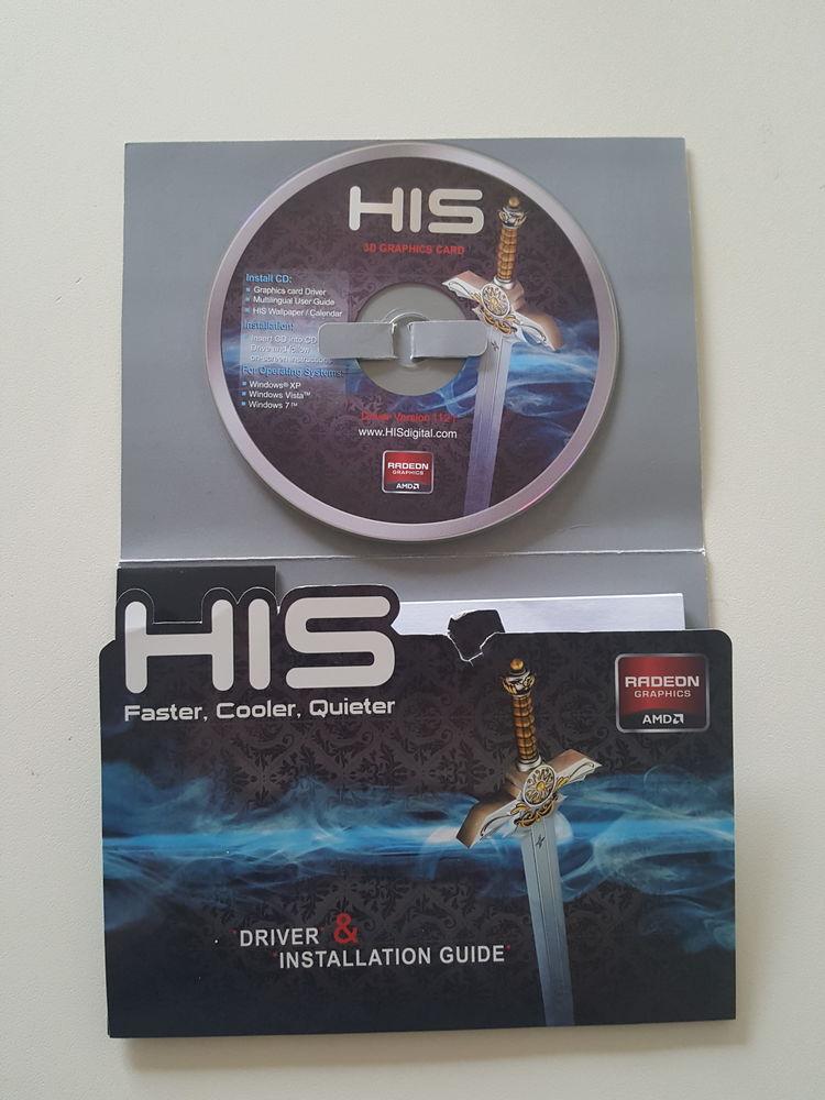 HIS ATI RADEON HD6790 ICEQ X 1GO GDDR3 DISC D'INSTALATION 10 Fontenay-le-Fleury (78)