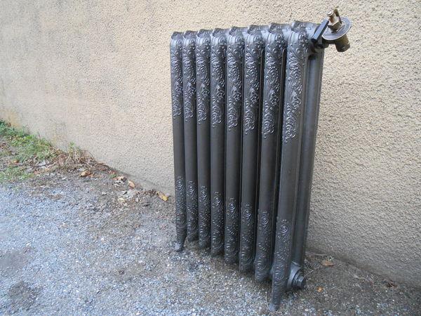 radiateur fonte rococo occasion