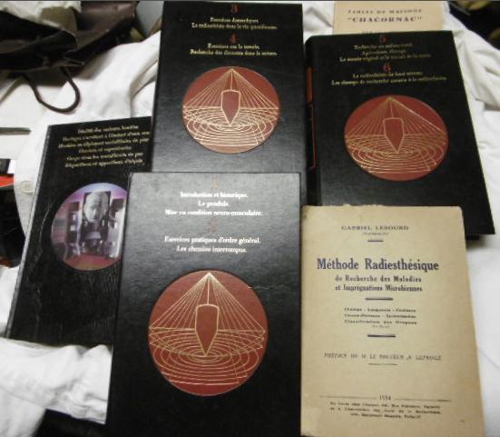 RADIESTHESIE méthode Lesourd éd.1934 + coll K7 initiatiques 50 Puteaux (92)
