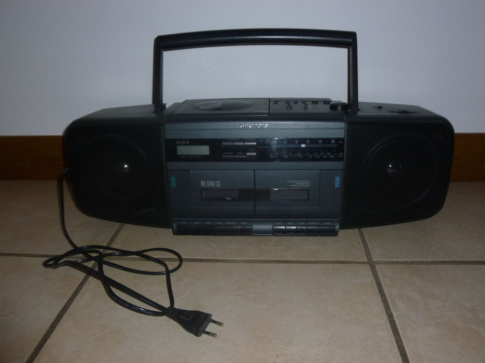 RADIO CD DOUBLE CASSETTE GRUNDIG 50 Lacapelle-Marival (46)