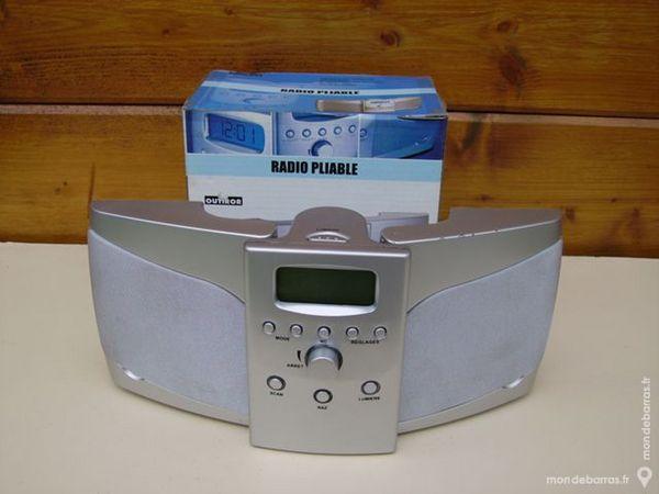 RADIO FM PLIABLE - Horloge 9 Dammarie-les-Lys (77)