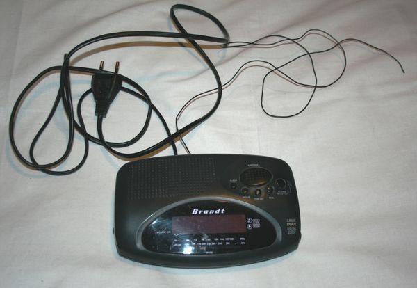 Radio réveil Brandt (original) Audio et hifi