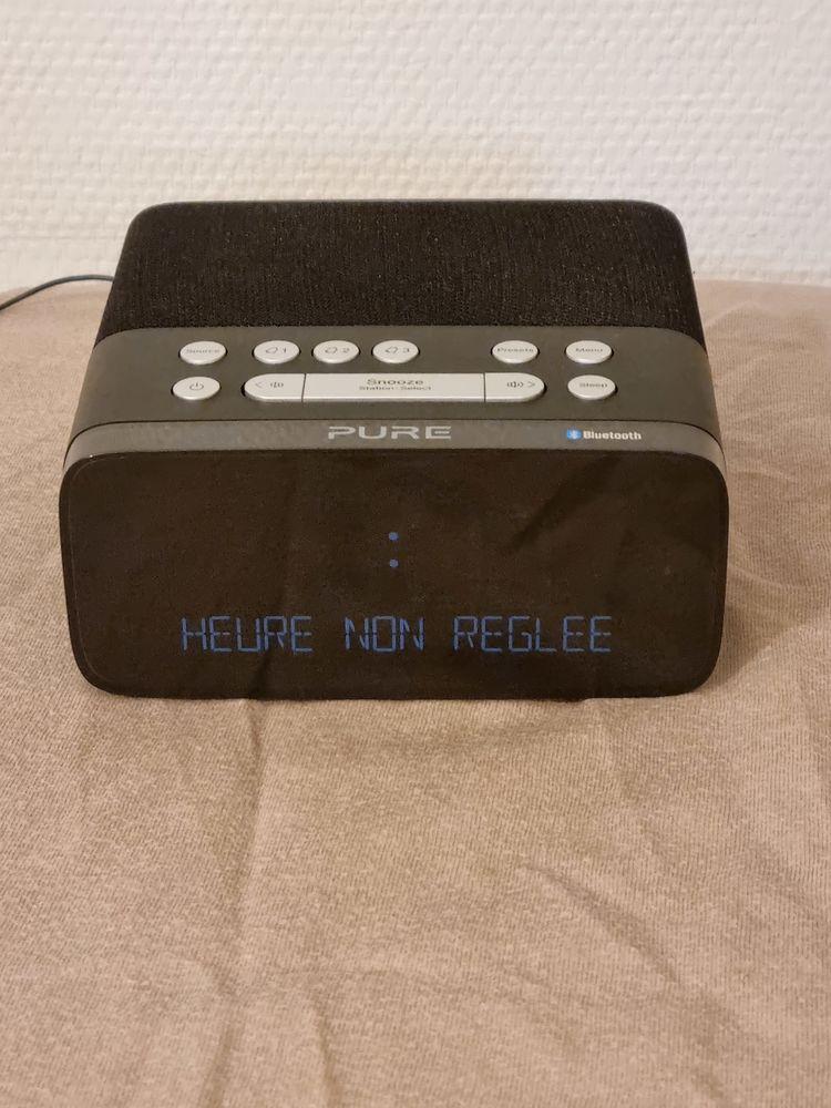 Radio Reveil Pure Siesta Rise S Graphite Bluetooth Audio et hifi