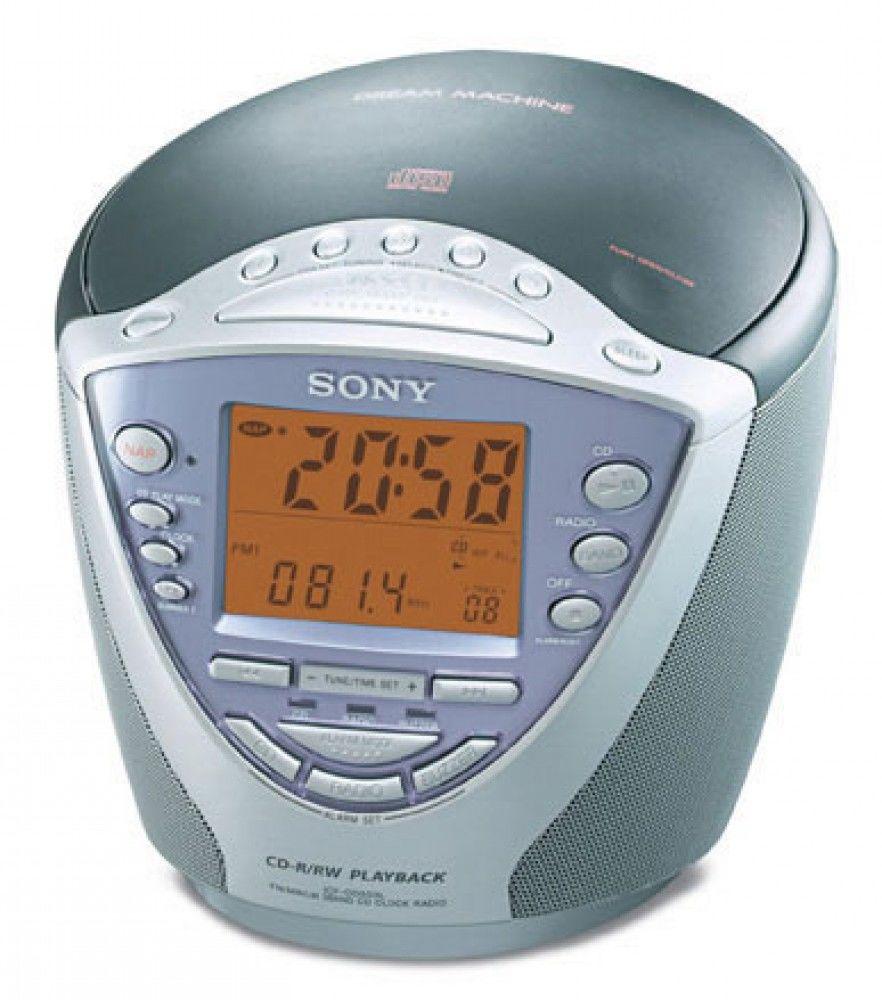 Radio réveil CD Sony ICF-CD853L 20 Pontavert (02)