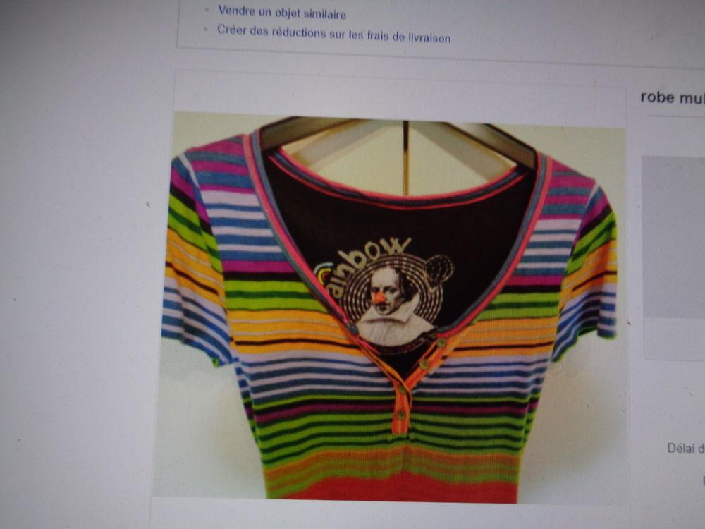 rainbow  robe multicolore t 36,38 comme neuve 16 Argenteuil (95)