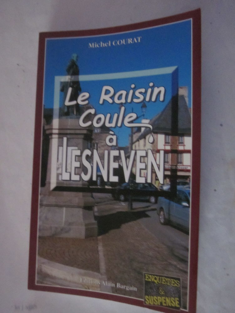 LE RAISIN COULE A LESNEVEN  policier  BRETON BARGAIN 4 Brest (29)