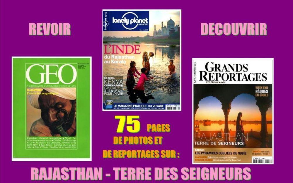 RAJASTHAN - revues - INDE / prixportcompris 14 Lyon 1 (69)