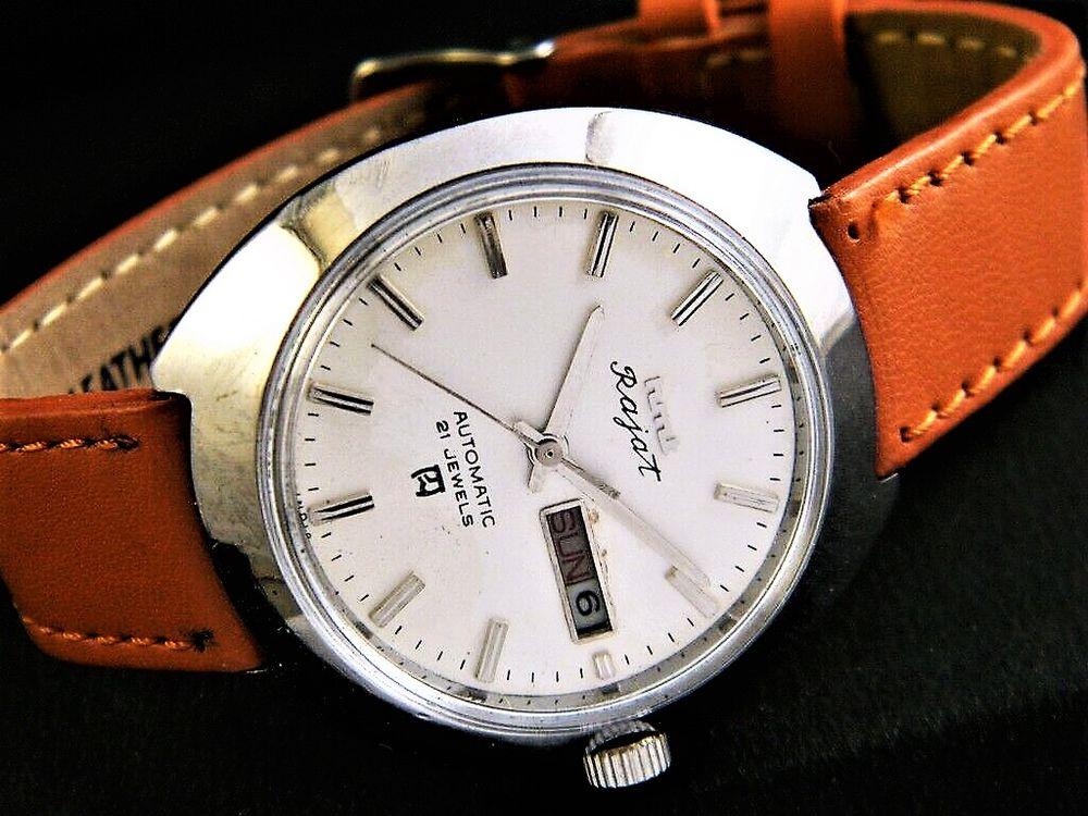 HMT Rajat montre automatique homme 1980 HMT1006 115 Metz (57)