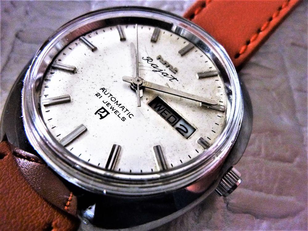 HMT Rajat montre automatique homme 1980 HMT1014 110 Metz (57)