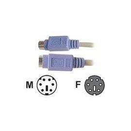 Rallonge câble  clavier PS2 M/F 1.8m male femelle 2 Leers (59)