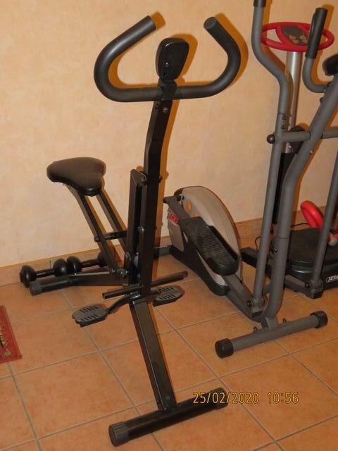 Rameur-vélo elliptique-plate forme vibrante 0 Saint-André-les-Vergers (10)