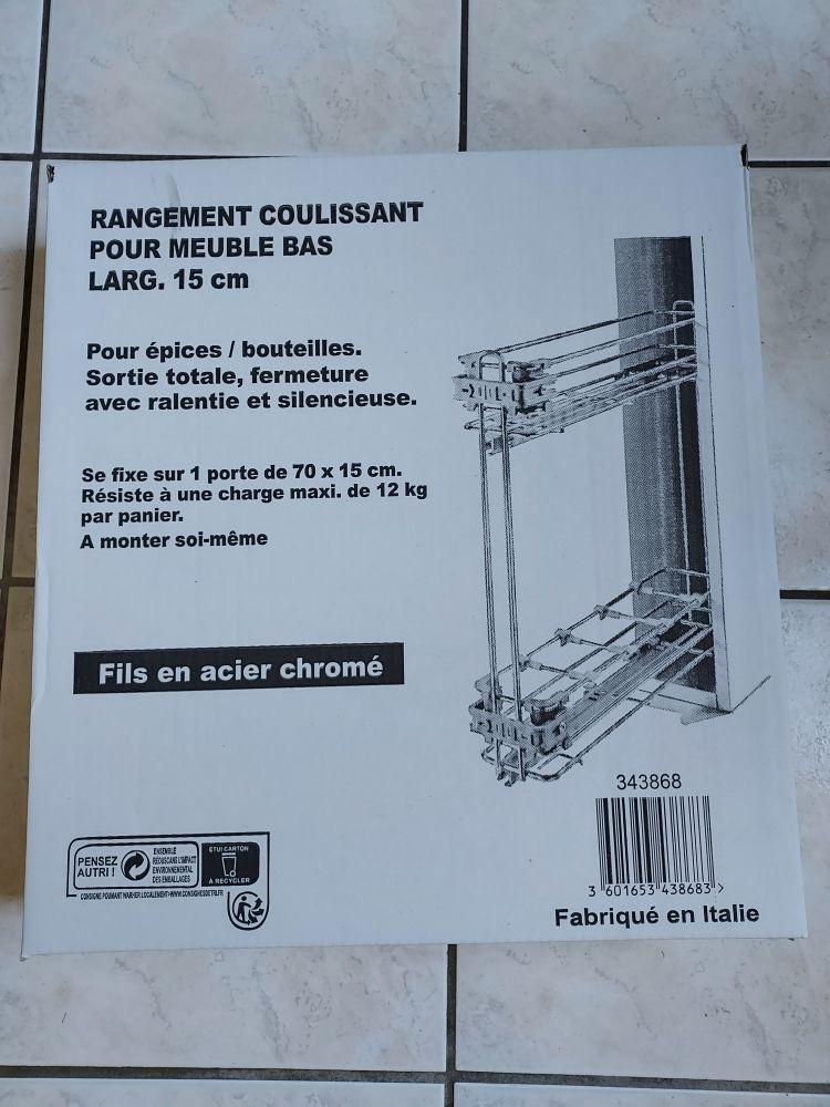 rangement coulissant 30 Biache-Saint-Vaast (62)