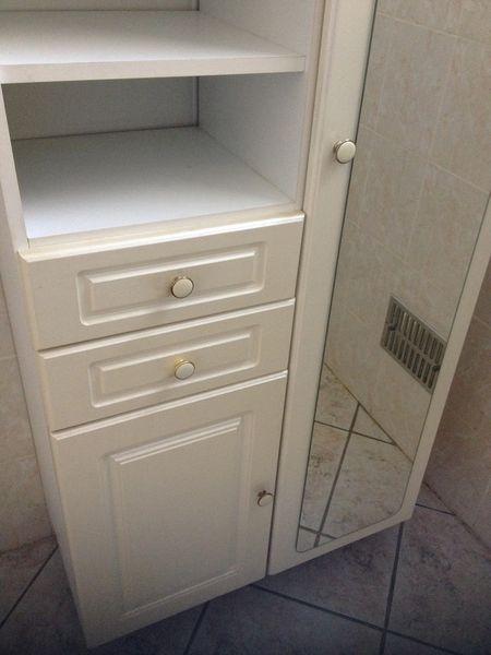 Achetez rangement salle de quasi neuf annonce vente - Cherche meuble de salle de bain ...