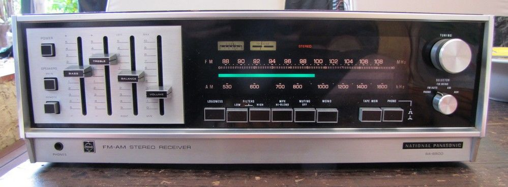 Rare ampli-tuner NATIONAL PANASONIC A8500 269 Cagnes-sur-Mer (06)