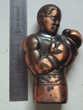 RARE : ancien BRIQUET * Boxe * Boxeur * Afro-américain