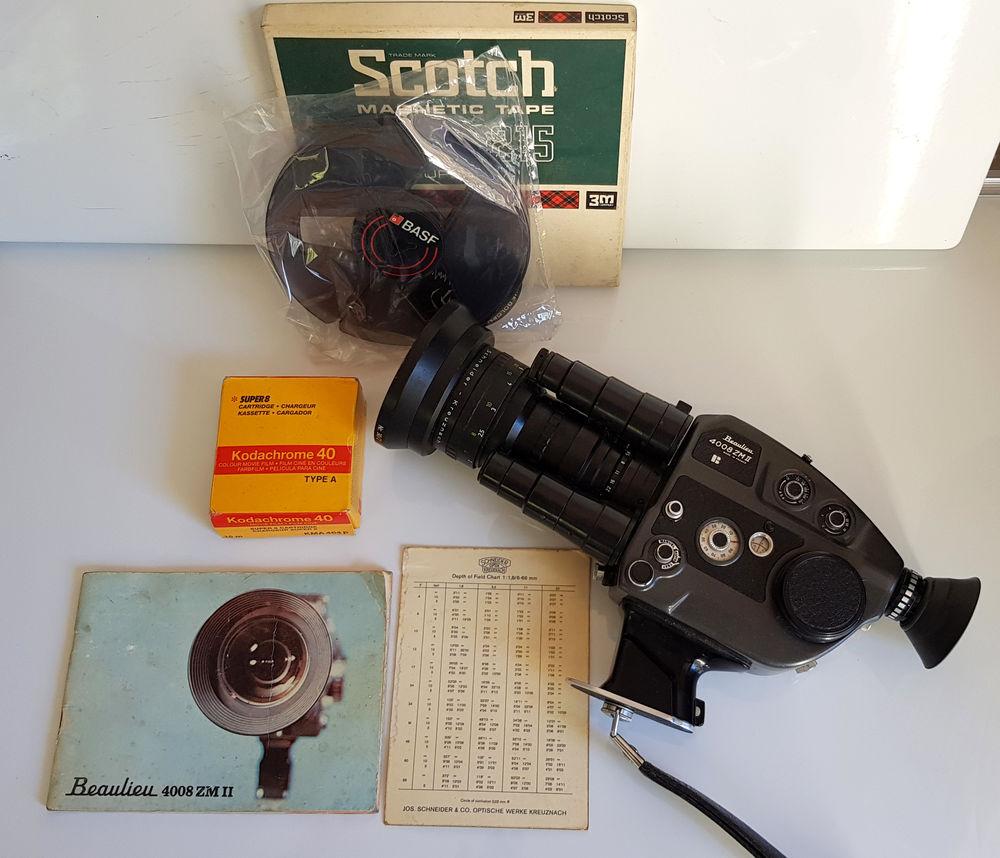 Rare ancienne caméra de cinéma vintage BEAULIEU 4008 ZM II 150 Aubagne (13)