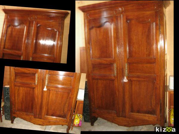 Rare armoire noyer époque directoire en parfait état restaur 2000 Marseille 13 (13)