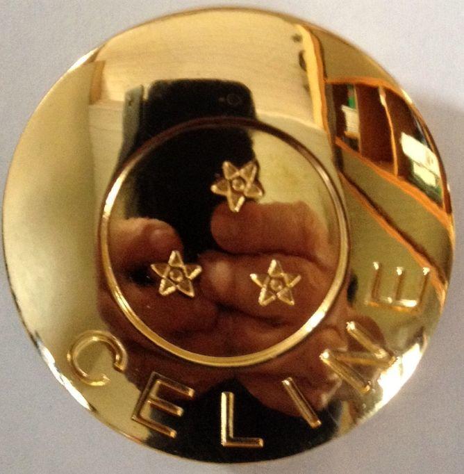 Rare et authentique broche CELINE avec diffuseur de parfum  0 Richwiller (68)