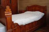 Rare lit de coin merisier avec matelas et sommier 450 Cholet (49)