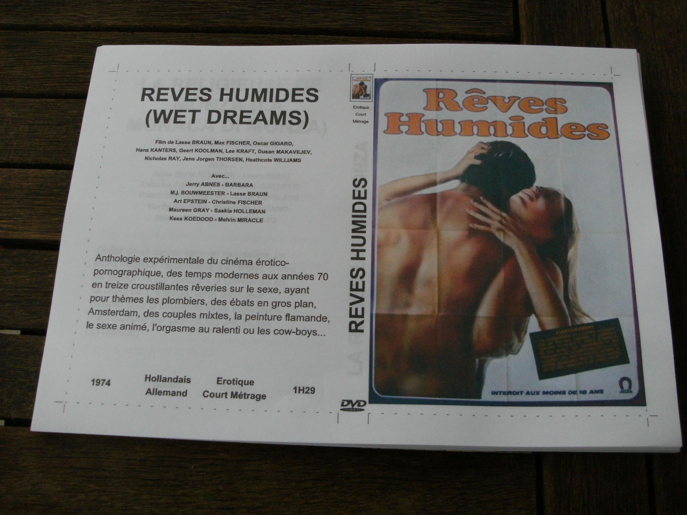 Rare film :   Reves humides   45 Saint-Médard-en-Jalles (33)
