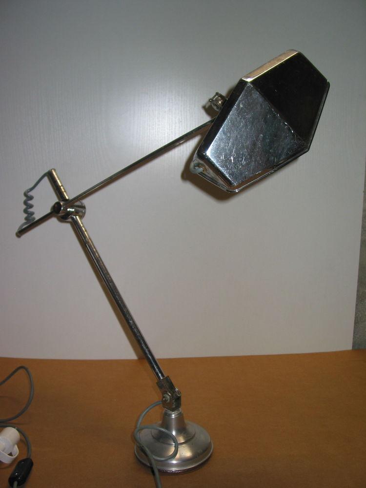RARE GRANDE LAMPE PIROUETT DE DESSINATEUR époque art déco 19 145 Marseille 13 (13)