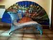 Rare et introuvable chaise longue scoubidou design Pringy (77)
